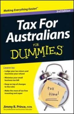 Jimmy Prince - Tax for Australians For Dummies