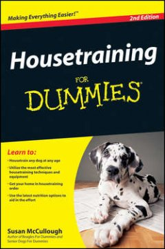 Susan McCullough - Housetraining For Dummies